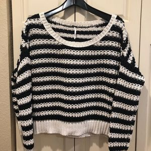 Free People Chunky Knit Oversized Sweater - Small